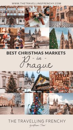 Best Christmas Markets in Prague: the Ultimate List by The Travelling Frenchy Prague Christmas Market, Best Christmas Markets, Christmas Markets Europe, Christmas Travel, Christmas Vacation, Christmas Fun, White Christmas, Dresden, Christmas Destinations