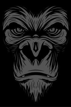 Mean Gorilla
