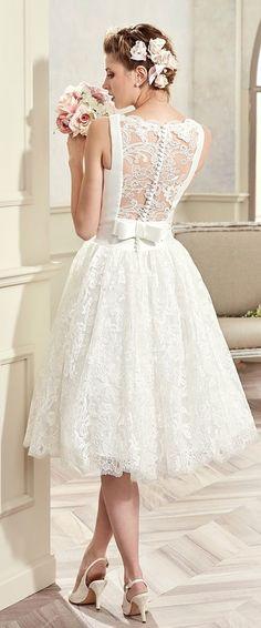 629 best Short Wedding Dresses images on Pinterest in 2018   Bridal ...