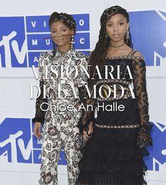 Chloe and halle dos artistas que estaban bajo la guardia de Beyonce en los MTV MVA 2016, representan un estilo visionario de la moda al combinar diferentes estilo y tendencias. Conoce a las chicas de  estilo Visionario en Fashion Factor.