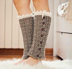 Crochet pattern - Luxury Leg Warmers