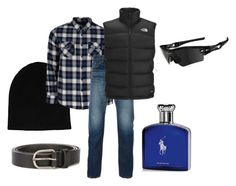 """Untitled #611"" by rachel-janney ❤ liked on Polyvore featuring rag & bone, United by Blue, Edwin, The North Face, Ralph Lauren, Oakley, Dsquared2, men's fashion and menswear"