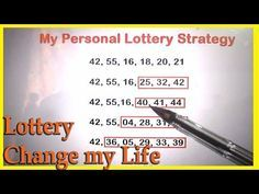 Lottery Change My Life - My Personal Lottery Technique to win the Lottery Jackpot Picking Lottery Numbers, Lucky Numbers For Lottery, Lotto Winning Numbers, Lotto Numbers, Winning The Lottery, Lottery Strategy, Lottery Tips, Lottery Games, Lottery Tickets