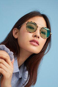 Slide View  1  Sonix Aviator Sunglasses Pequenas Dicas De Moda, Roupas  Pequenas, 1c76b1091a