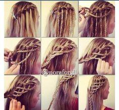 #beautiful #braid #strange