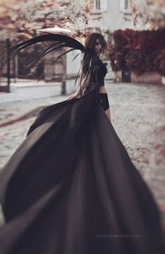 Dark Dress by Lénaïc Sanz, via 500px