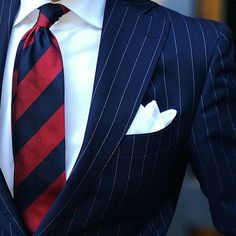 suitandtiefixation: Sometimes a plain white silk PS can turn your look into something sophisticated.