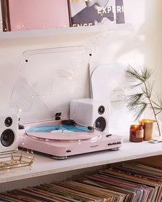 """Swooning over this @audiotechnicausa X UO turntable, online now in two exclusive colors! #ATspins #UOHome #urbanoutfitters"""