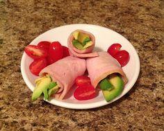 Paleo snack ideas. Paleo turkey avocado rolls - ok. I know what Im taking to work in the morning.