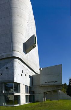 Saint-Pierre Church. Firminy, Loire, France. 2006. (Designed in 1960) Le Corbusier.