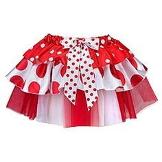 Minnie mouse tutu - this could be cute for Disney running. MouseTalesTravel.com