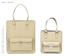 572d695b3f Brix + Bailey Large + Mini Taylor Leather Totes - Cream Croc - Designed in  England. Made in England www.brixbailey.com