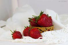 strawberries & crochet