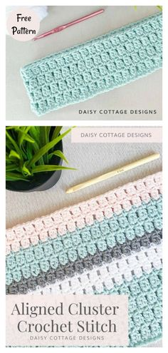 Modern Crochet Blanket, Crochet Stitches For Blankets, Crochet Stitches Patterns, Different Crochet Stitches, Crocheting Patterns, Knitting Patterns, Crochet Baby Blanket Free Pattern, Booties Crochet, Baby Booties