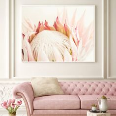 Your place to buy and sell all things handmade Protea Art, Protea Flower, Nursery Art, Nursery Decor, Bedroom Decor, Baby Bedroom, Wall Art Prints, Fine Art Prints, King Protea