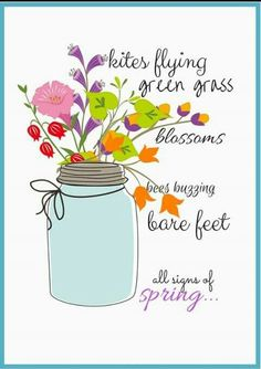 Over 100 Spring DIY Crafts that you'll love to make. Great ideas for Easter and your Spring Decor plus free Printables for Spring. Printable Art, Free Printables, Printable Pictures, Envelopes, Pots, Spring Sign, Spring Has Sprung, Hello Spring, Happy Spring