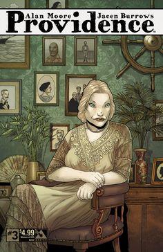 Providence #3 - women of HPL cover. Alan Moore, Jacen Burrows (Avatar Press)