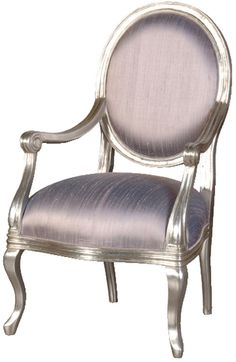 Awesome silver-leaf chair