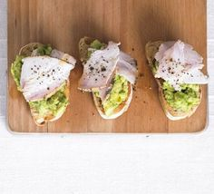 Turket and Avo on Toast ~ Serve with salad for quick lunch