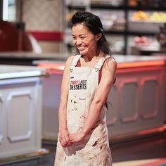 Putting the Apron to the test!!! Go Irene! Zumbo's Just Desserts contestant Irene stylishly protected by her Cargo Crew Sidney Bib Apron... Available at http://www.cargocrew.com.au/aprons/apron-collections/sidney-aprons/sidney-bib-apron-sulphur.html
