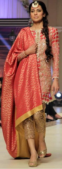 #FarazManan Bridal Collection at Telenor Bridal Couture Week 2014