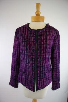 Tribal Chanel Tweed Jacket