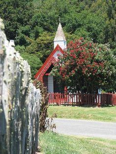 Maori church.