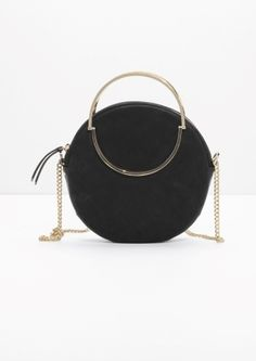 & Other Stories | Small Leather Circle Bag