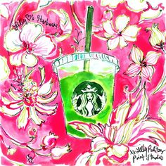 Lilly loves Starbucks | June 2015 | Lilly 5x5