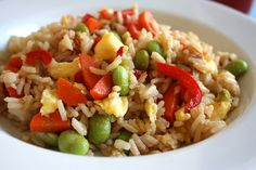 My Kids Ate It: Rainbow Fried Rice