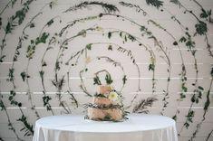 1920′s Inspired Wedding With A Modern Twist: Ashley + Philip #wedding, #cake