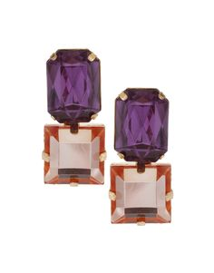 Gem Stud Earrings $10.52