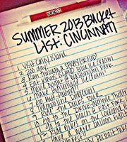 Cincinnati Summer Bucket List!- we are always looking for stuff to do!