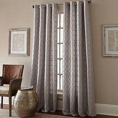 Manhattan Grommet Top Window Curtain Panel  For front bedrooms