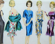 Vintage McCall's 9709 Sewing Pattern 1960s Dress Pattern