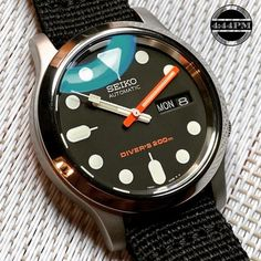 A provider of Custom Seiko Watch Modification services. Specializing in Seiko Mods and Watch Modding services. Custom designs and pre-built Seiko Mods for sale. Seiko Mod Parts. Amazing Watches, Beautiful Watches, Cool Watches, Seiko Skx, Seiko Watches, Vintage Watches For Men, Luxury Watches For Men, Cheap Watches For Men, Seiko Automatic