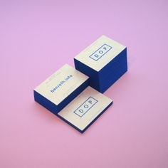 DOP cards by Ben Roth, via Behance