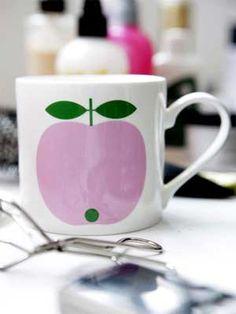 Koloni - Äppelmugg större modell ROSA