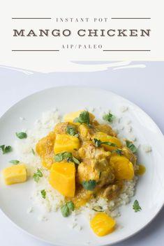 Instant Pot Mango Chicken (AIP/Paleo)