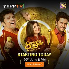Watch Sony Entertainment Live online anytime anywhere through YuppTV. Access your favourite TV shows and programs on Hindi channel Sony Entertainment on your Smart TV, Mobile, etc. Entertainment Online, Sony Tv, Smart Tv, Favorite Tv Shows, Superstar, Singing, Channel, Entertaining, Watch