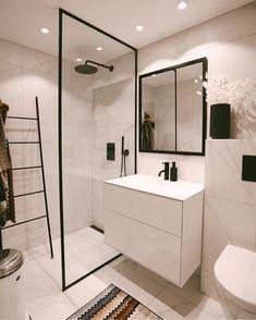 Home Decor Inspiration .Home Decor Inspiration Budget Bathroom, Bathroom Inspo, Bathroom Inspiration, Modern Bathroom, Small Bathroom, Zen Bathroom, Paris Bathroom, Bathroom Vinyl, Brown Bathroom