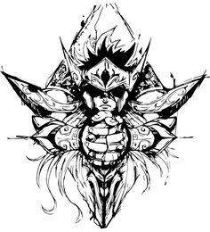 Anime Tattoos, Tatoos, Tattoo Finder, Tribal Logo, Marvel Cards, Psychadelic Art, Samurai Artwork, Tattoo Project, Colorful Drawings