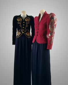Evening jackets, 1938. Dressing For the Cocktail Hour.  The Met's Heilbrunn Timeline of Art History