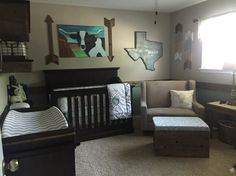 Austin's Texas hill country nursery! We are so excited :) #nursery #baby
