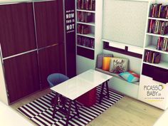 Let's study! New picassobaby creation Kids Room, Entryway, Study, Rooms, Furniture, Home Decor, Entrance, Bedrooms, Studio