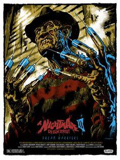 ✯ A Nightmare on Elm Street 3 :: Artist Jason Edmiston ✯