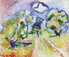 Henri Matisse   Promenade des Oliviers