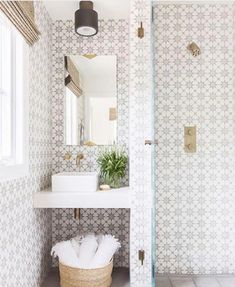 Bra lösning i ett litet badrum...