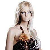 Høj kvalitet syntetisk Medium Blonde Hair Par... – DKK kr. 242