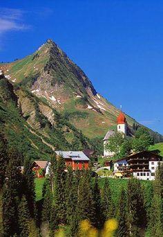 Damüls, Vorarlberg, Austria